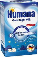 Молочная смесь Humana Сладкие сны  (с Омега 6 и Омега 3) 6м+ 600г Суміш молочна суха