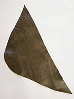 Шкіра натуральна для рукоділля Коричнева 40*18см, №122, фото 1