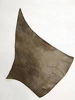 Кожа натуральная для рукоделия Коричневая 29*18см, №123, фото 1