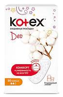 Прокладки ежедневные Kotex deo normal, 20 шт.