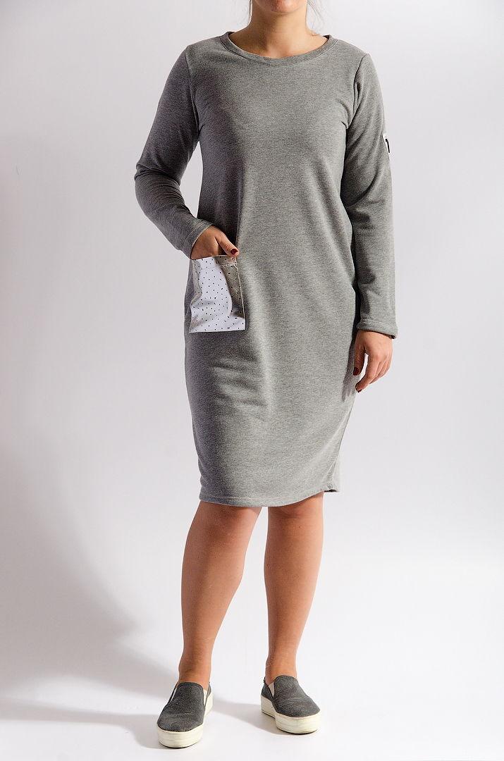 Платье с карманом  оптом