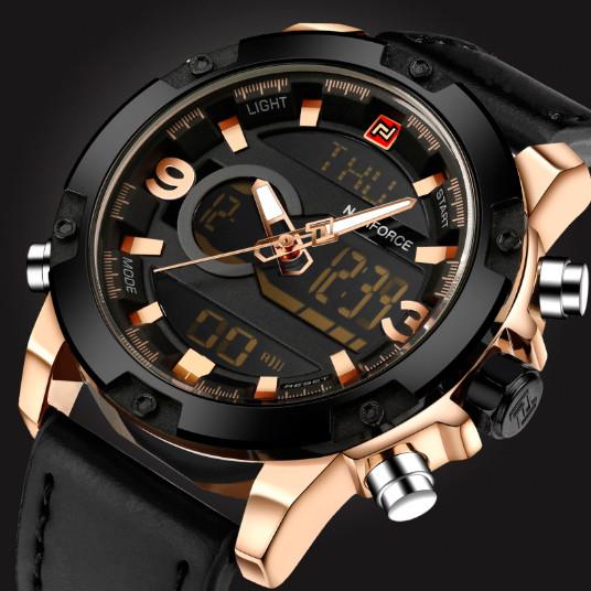 Naviforce Мужские спортивные водостойкие часы Naviforce Kosmos NF9097G 1284