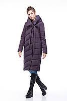 Зимняя женская куртка ORIGA Вероника 42 Амарантовый