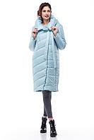 Зимняя женская куртка ORIGA Вероника 42 Голубой