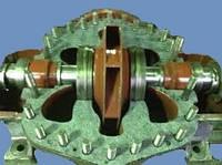 Ротор в сборе насоса 1Д1600-90 запчасти насоса 1Д1600-90