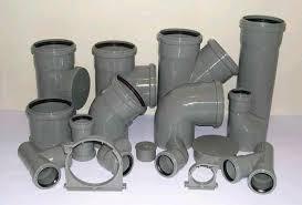 Фурнитура для канализации (колена, тройники, муфта)