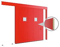 Противопожарные одностворчатые откатные ворота с классом огнестойкости EI60, EI90, фото 1