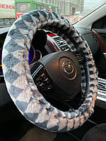 Оплётка меховая на руль Rondo  M