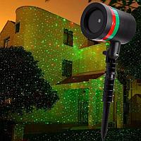 """Лазерный проектор для """"звездного"""" украшения дома"""