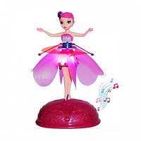 Кукла летающая фея Flying Fairy на подставке (база)   Летит за рукой, волшебство в детских руках, фото 1
