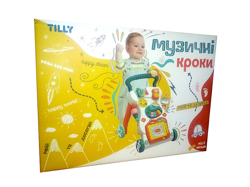 "Музыкальная каталка-ходунки ""Музичні кроки"""