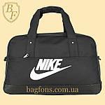 Спортивная дорожная сумка Nike мужская, женская 30л (SN025) черный, фото 2