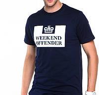 Футболка в стиле Weekend offender