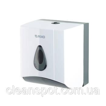 Диспенсер туалетной бумаги листовой или бытовой Rixo Maggio P176W