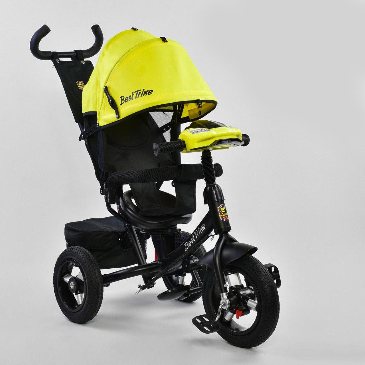 Велосипед трехколесный Best Trike 7700 В - 7210 поворотное сиденье, надувные колеса