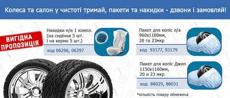 Соблюдаем чистоту «обуви» и салона авто