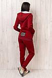 Спортивний костюм на змійці з нашивками, фото 3