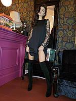 Модное женское платье балахон