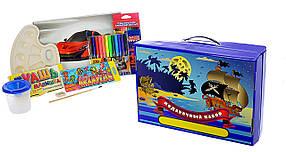 Roz Подарочный набор для детского творчества для мальчиков  68 предметов