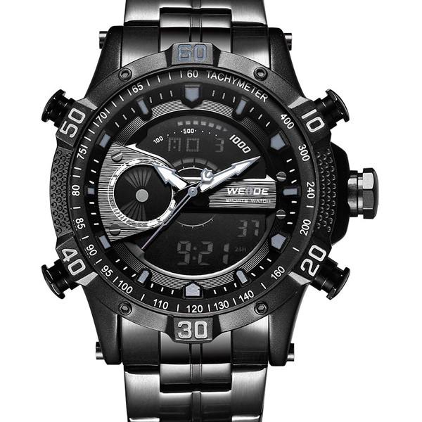 Weide Спортивные мужские наручные часы Weide 1804 Black