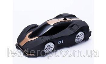 [ОПТ] Машинка антигравітаційна Climber Car Чорна на радіоуправлінні. Машинка яка їздить по стінах Wall Climber