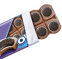 Milka Oreo Sandwich Молочный шоколад с цельным перенёс Oreo, фото 2