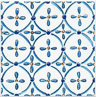 Керамическая Вставка Капри майолика9,9х9,9х7STG\A485\1146