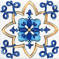 Керамическая Вставка Капри майолика9,9х9,9х7 STG\A486\1146