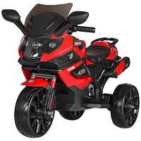Детский мотоцикл Bambi M 3986EL-3 красный, фото 1
