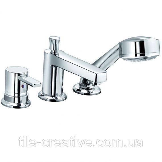 Смеситель для ванны и душа Kludi Zenta 384460575