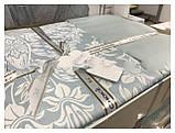Комплект постільної білизни сатин First Choice Vanessa mint, фото 2