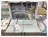 Комплект постільної білизни сатин First Choice Vanessa mint, фото 3