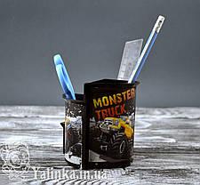 Rz Склянку канцелярський для хлопчиків Monster Trusk, фото 2