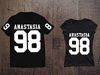 Парные именные футболки ( Все ЦВЕТА ) №42