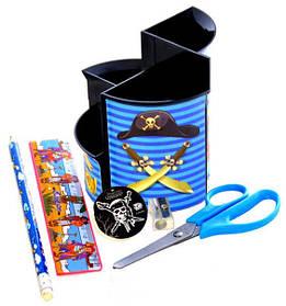 Rz Стакан канцелярский для мальчиков Pirate