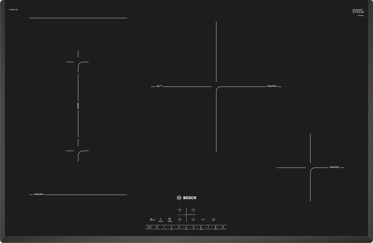 Індукційна варильна поверхня Bosch PVS851FB5E