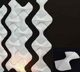 """Гипсовая 3d панель для стен """"Мозаика"""" (декоративная стеновая 3д панель)"""