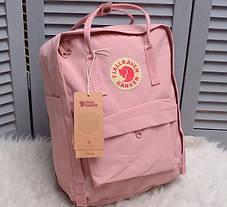 Рюкзак Канкен сумка портфель Kanken Fjallraven Classic текстиль рефлективное лого 6 цветов 16л реплика, фото 3