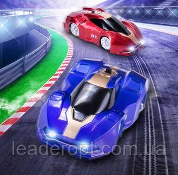 [ОПТ] Машинка антигравітаційна Climber Car Синя на радіоуправлінні. Машинка яка їздить по стінах Wall Climber
