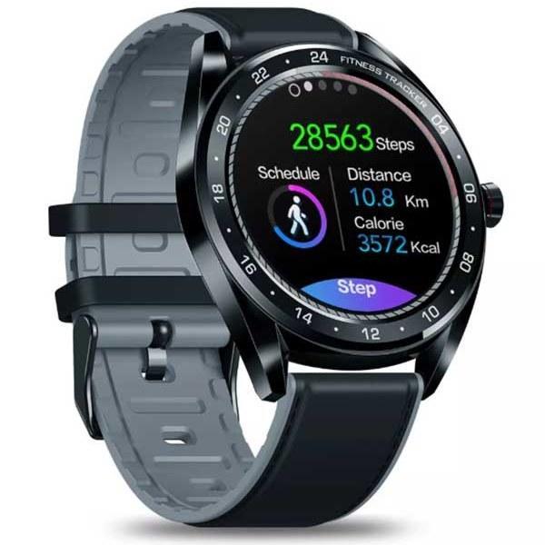 Смарт часы Zeblaze NEO Black с тонометром и функциями фитнес-трекера