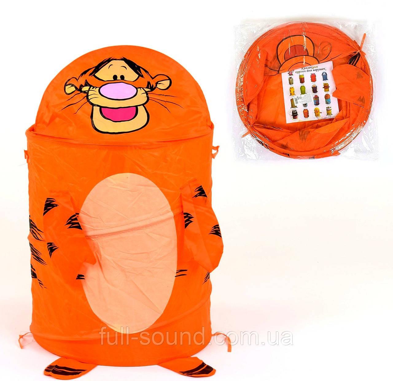 Корзина для игрушек тигра