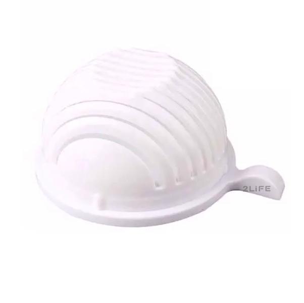 Овощерезка ручная кухонная 2Life 2 in 1 White (n-202)