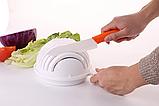 Овощерезка ручная кухонная 2Life 2 in 1 White (n-202), фото 3