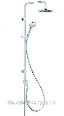 Душевая система Kludi Logo Dual Shower System 1S с ручной лейкой 6809305-00