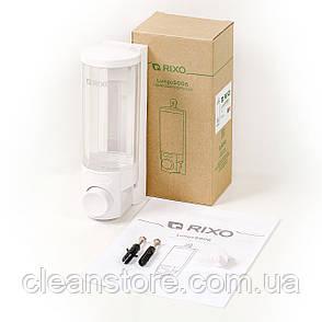 Дозатор жидкого мыла универсальный Rixo Lungo S006W, фото 2