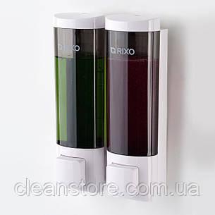 Дозатор жидкого мыла универсальный Rixo Lungo SW013W, фото 2