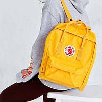 Рюкзак портфель сумка Fjallraven Kanken Classic Канкен Фьялравен текстиль 16 литров 6 цветов реплика