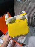 Сумка женская от Эрмес Lindy 20 cм натуральная кожа, фото 6