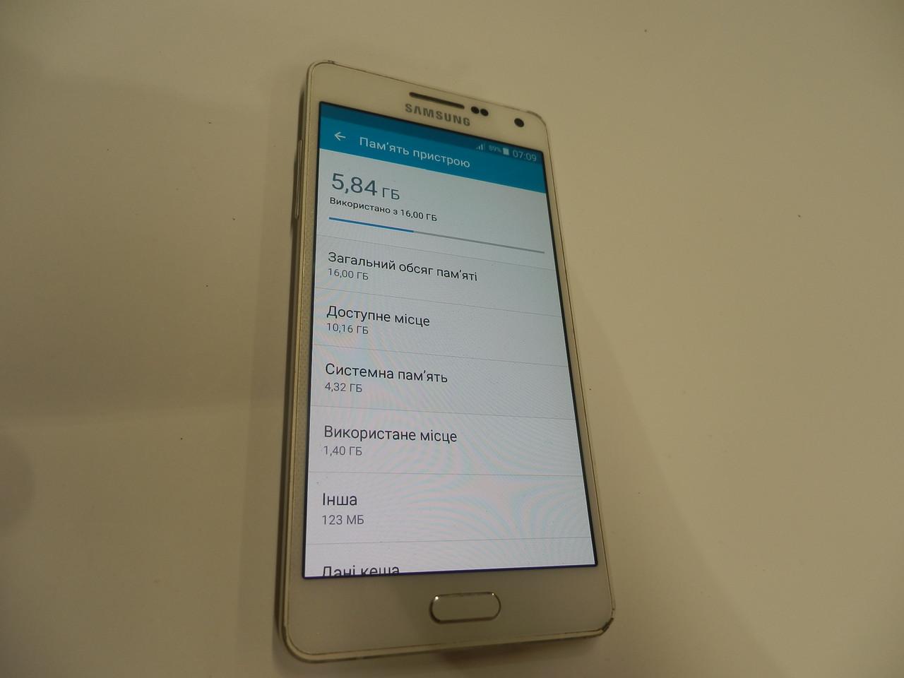 Мобильный телефон Samsung SM-A500H/DS 200ВР