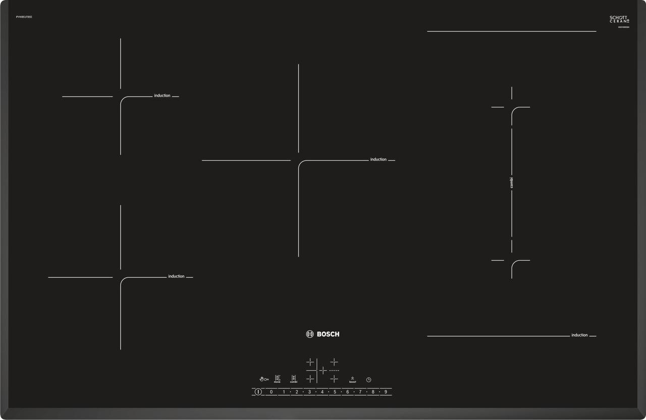Индукционная варочная поверхность Bosch PVW851FB5E
